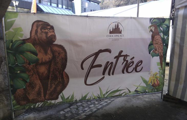 Festival de sculptures en chocolat